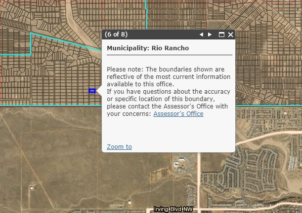 Rio Rancho city limits